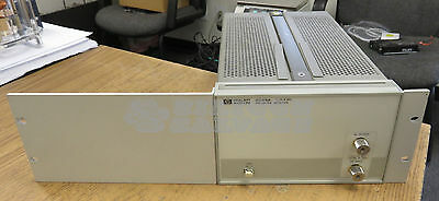 HP Agilent Keysight 8348A Microwave Amplifier 2-26.5GHz
