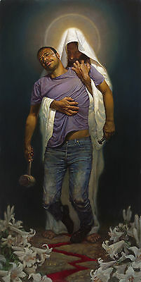 """Thomas Blackshear II """" Forgiven II"""" Limited Edition Hand Signed and Numbered"""