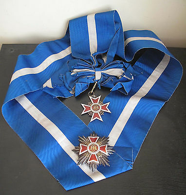 Ultra Rare Romania Order Of The Crown Grand Cross Set 2Nd Model
