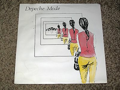 "RARE Depeche Mode ‎– Dreaming Of Me- MUTE 013 UK 7"" EX"