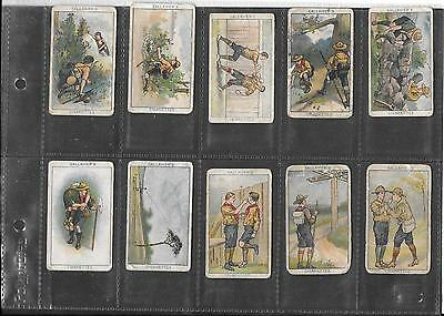 Gallaher - Boy Scouts Series (Brown Backs) - 1922 - 10 Cards