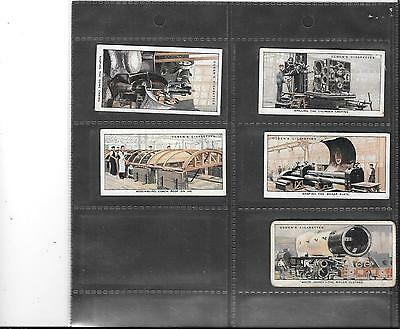 Ogden's - Construction Of Railway Trains - 1930 - 5 Cards