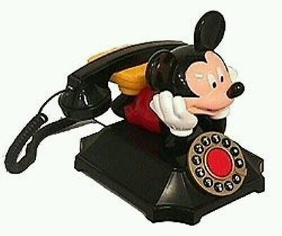 Mickey  Mouse Desk telephone Telemania Mickey Brand New in Box