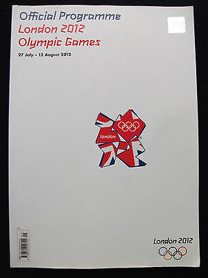 Olympic Games London 2012 Official Programme