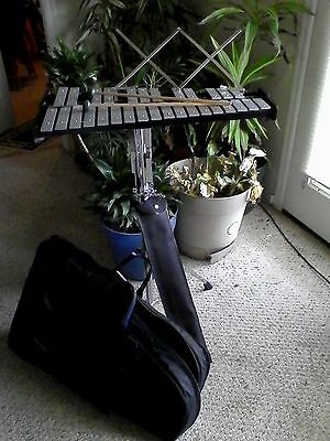 CB 700 Xylophone w stand, sheet music holder, mallets and gear bags
