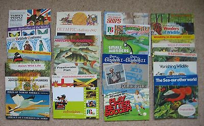 Brooke Bond empty albums - select one or more