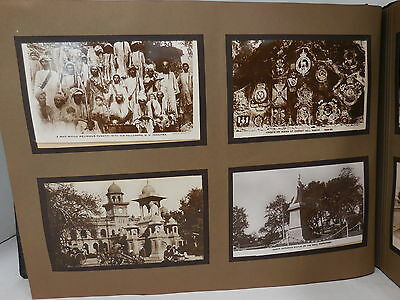 British Army in India/Afghanistan & Frontier Photo Album + Postcards 1920's Era