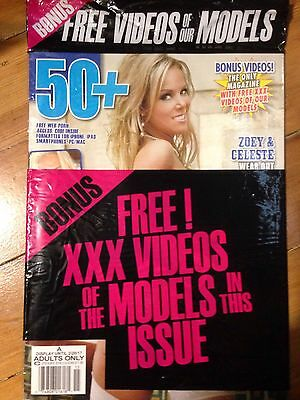 Adult Magazine 50+ Display Until 2/29/2017 New Sealed