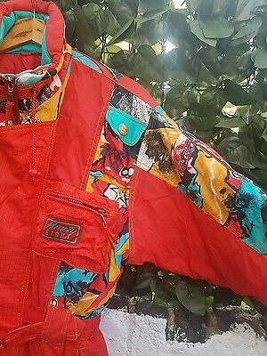 Vintage Women's Red Ski suit Size S