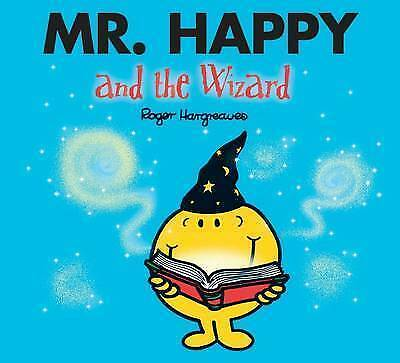 Mr Happy and the Wizard     Roger Hargreaves   Sparkly cover     New
