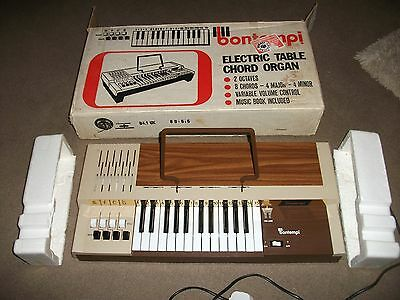 Electric Table Chord Organ By Bontempi-Used-In Original Box-Really Good Cond.