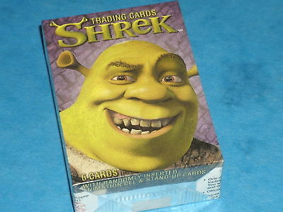 SHREK  Complete Set Of 72 Trading Cards Donkey,Princess Fiona,Mike Myers,Dragon