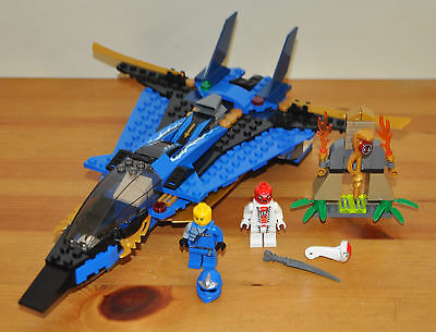 Lego Jay Storm Fighter Ninjago Set 9442 Complete With All Minifigures Kids Toy