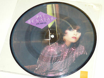 "Pat Benatar: Fire And Ice, 7"" Picture Disc, 1981"