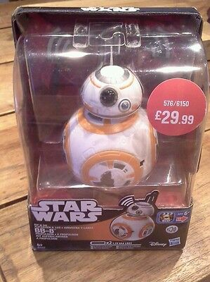 Star wars BB-8 talking robot toy -the force awakens NEW