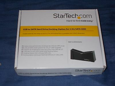 USB to SATA Hard Drive Docking Station for 2.5in SATA HDD External Storage PC