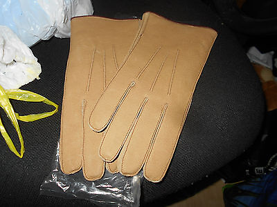 Leather gloves size 8.5
