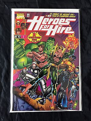 Heroes For Hire #1-14 (1997) High Grade Lot Iron Fist Luke Cage Marvel