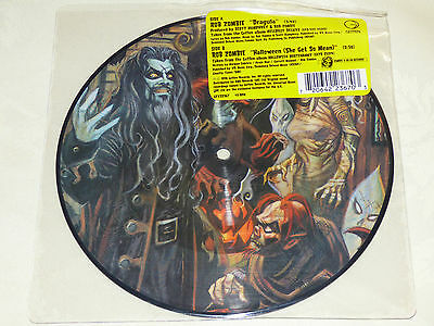 "Rob Zombie: Dragula, 7"" Picture Disc Single 1998"