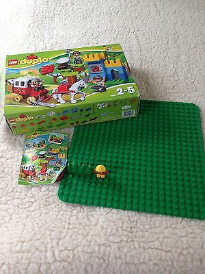 Lego Duplo 10569 Treasure Attack Ages 2-5 With Green Base Board