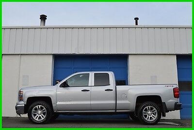 2014 Chevrolet Silverado 1500 LT Double Cab N0T Crew Cab 4X4 4WD 5.3L V8 Save Repairable Rebuildable Salvage Runs Great Project Builder Fixer Easy Fix Save