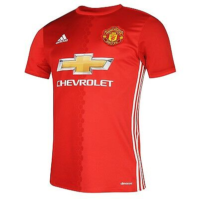 **brand New** Adidas Manchester United Home Red Jersey/shirt 2016-17, Size L