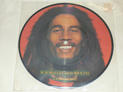 "Bob Marley: Waiting In Vain, 7"" Picture Disc Single 1984"