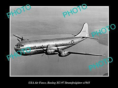 Old Historic Aviation Photo Usa Air Force, Boeing Stratofreighter Aircraft 1945