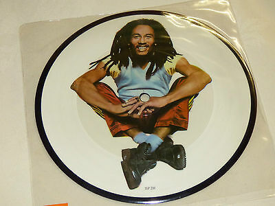 "Bob Marley: Could You Be Loved, 7"" Picture Disc Single 1980"