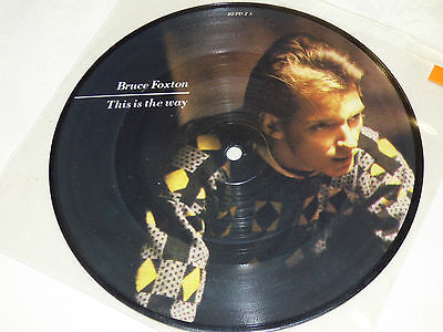 "Bruce Foxton: This Is The Way, 7"" Picture Disc Single 1983"