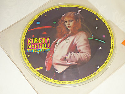 "Kirsty MacColl: They Don't Know, 7"" Picture Disc Single 1979"