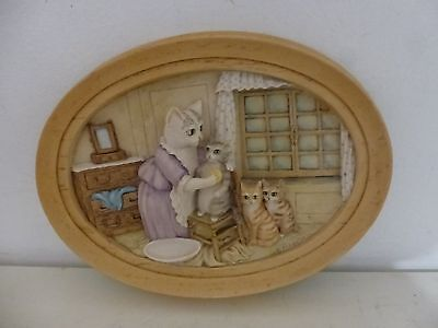 "Border Fine Arts Beatrix Potter ""This one is Moppet"" Wall Plaque"