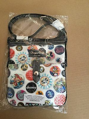 Disney dooney and bourke buttons crossbody bag NEW SEALED WDW