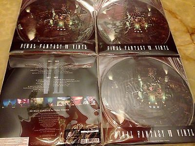 Final Fantasy Vii 7 Vinyl Limited Edition Only 1200 2 Disc New Sealed Sold Out