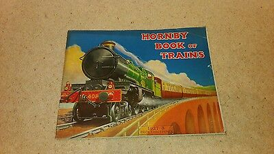 1927-28 Hornby Book of Trains rare vintage  hornby rare