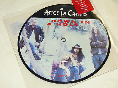 "Alice In Chains: Down In A Hole, 7"" E.P. Picture Disc Single 1993"