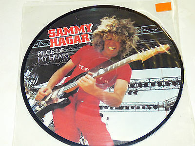"Sammy Hagar: Piece Of My Heart, 7"" Picture Disc 1981"