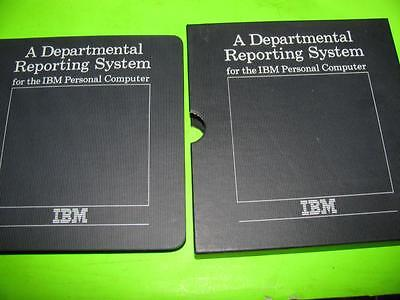 Vintage Ibm Departmental Reporting System Software And Manual - Ly20-0386-0