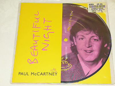"Paul McCartney: Beautiful Night, 7"" Picture Disc Single 1997"