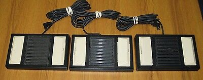 Lot of 3 Panasonic RP-2692 Foot Pedal Switch for Transcribers