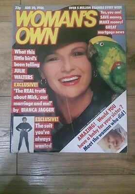 Woman's Own Vintage Magazine - 3oth August, 1986