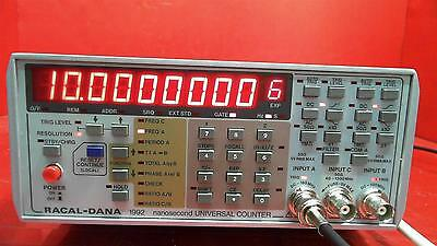 RACAL-DANA 1992 Nanosecond Universal Counter With GPIB Option