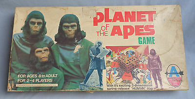 Vintage Planet Of The Apes Board Game Arrow 1974