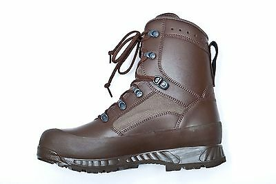 HAIX combat brown army boots 8 8M NEW WITH TAGS high liability RRP 150