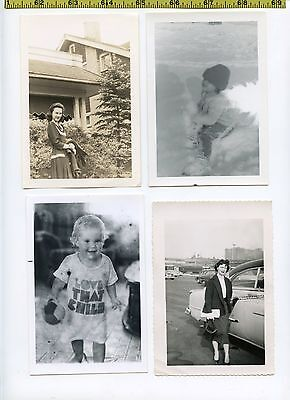 (28) Vintage photo lot / Photographic ODDITIES - Abnormal OLD SNAPSHOTS 1910-70