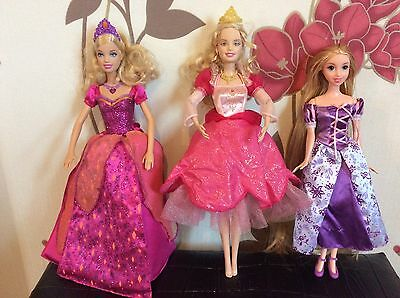 Barbie Diamond Castle Liana Doll 12 Dancing Princesses Genevieve Rapunzel Doll