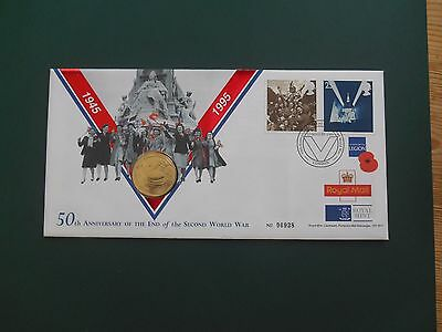 £2 Coin Cover 50th Anniversary of the End of the Second World War 1945-1995