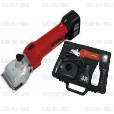 10.8 V Li Ion Cordless Clippers Horse Cattle Animal Clipper 2 X Batteries New