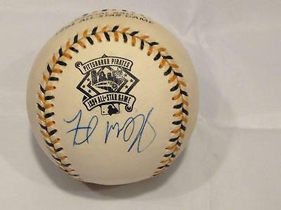Fred Mcgriff Braves 1994 All Star Game Signed Baseball Oaw Coa Hunt Auctions 2A