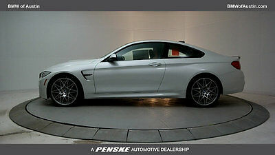 2017 BMW M4 M4 M4 New 2 dr Coupe Gasoline 3.0L STRAIGHT 6 Cyl Mineral White Metallic
